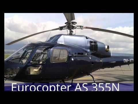 Helicopter flight to High Tatras from Poprad Tatry airport, Slovakia