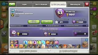 Clash Of Clans Folge#2 Ein Spieler mit 5104 Pokalen (Weltre