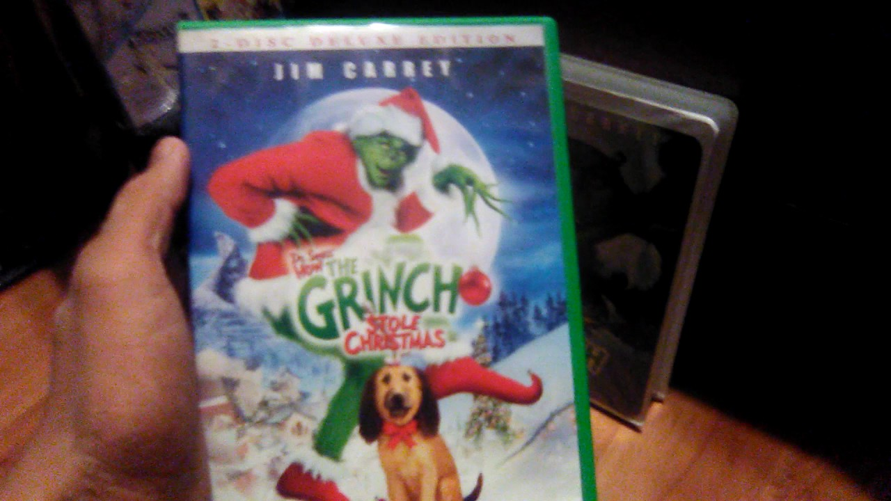 How The Grinch Stole Christmas 2000 Vhs.Comparison Video 19 Dr Seuss How The Grinch Stole Christmas 2000