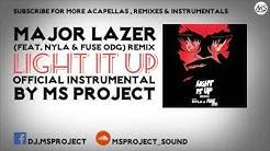 Major Lazer - Light It Up [Official Instrumental] (feat. Nyla & Fuse ODG) [Remix] + DL