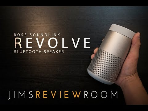 Bose Soundlink Revolve (w/ guest JBL CHARGE 3) - REVIEW