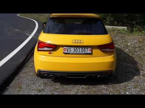 Audi S1 Drive: Switzerland / Valais / Binntal