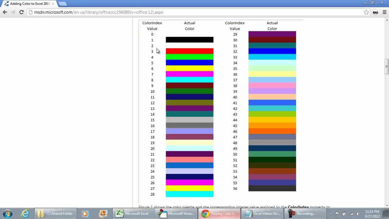 How To Change Gridline Color In Excel