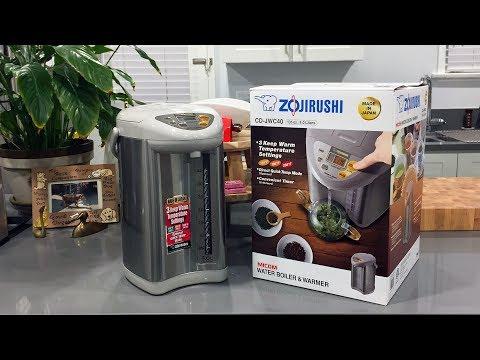 Zojirushi CD-JWC40 Micom Water Boiler and Warmer