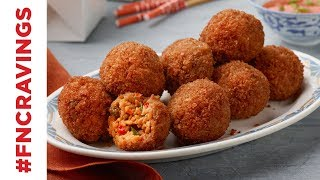 How to Make Fried Rice Arancini | Food Network