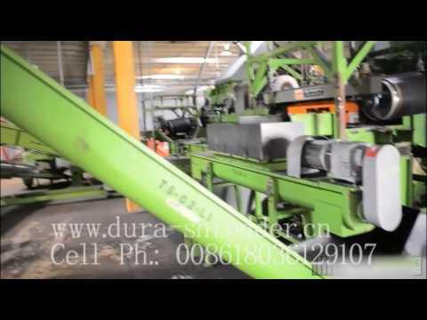 Waste Tyre Shredding Plant in Miami