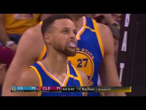 Steph Curry 2017 nba playoff final