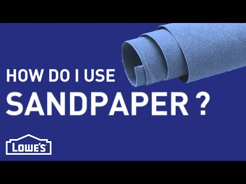 How Do I Use Sandpaper? | DIY Basics