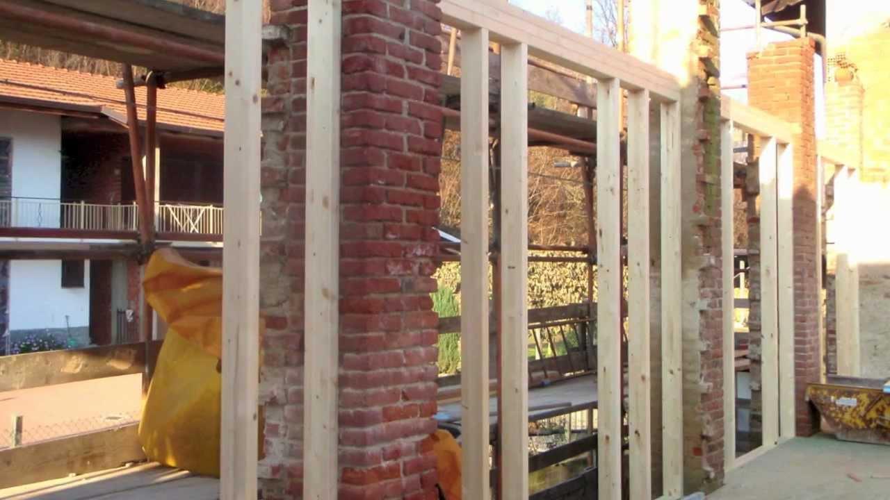 Domus italia ristrutturazione con struttura portante in legno youtube - Ristrutturazione finestre in legno ...