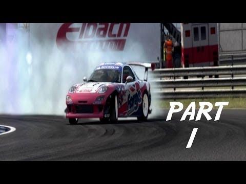 Grid Auto Sport Gameplay Walkthrough Part 1 - Team Razer (PC)