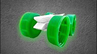 Mandaldan Araba Yapımı|Pet Şişe Kapaklarından Araba|Süper|DIY Projeleri|Yap Can