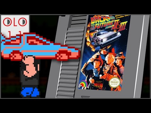 Back to the Future Part II & III - NES - Only Level One