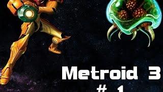 Let´s Play #Super Metroid *Part1  ~Der Überfall (Duetsch HD)(Snes)