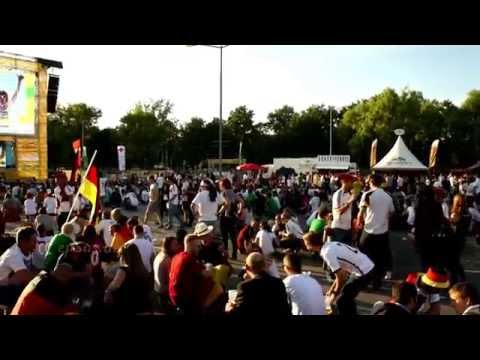 German Football Victory Celebration with Humpa