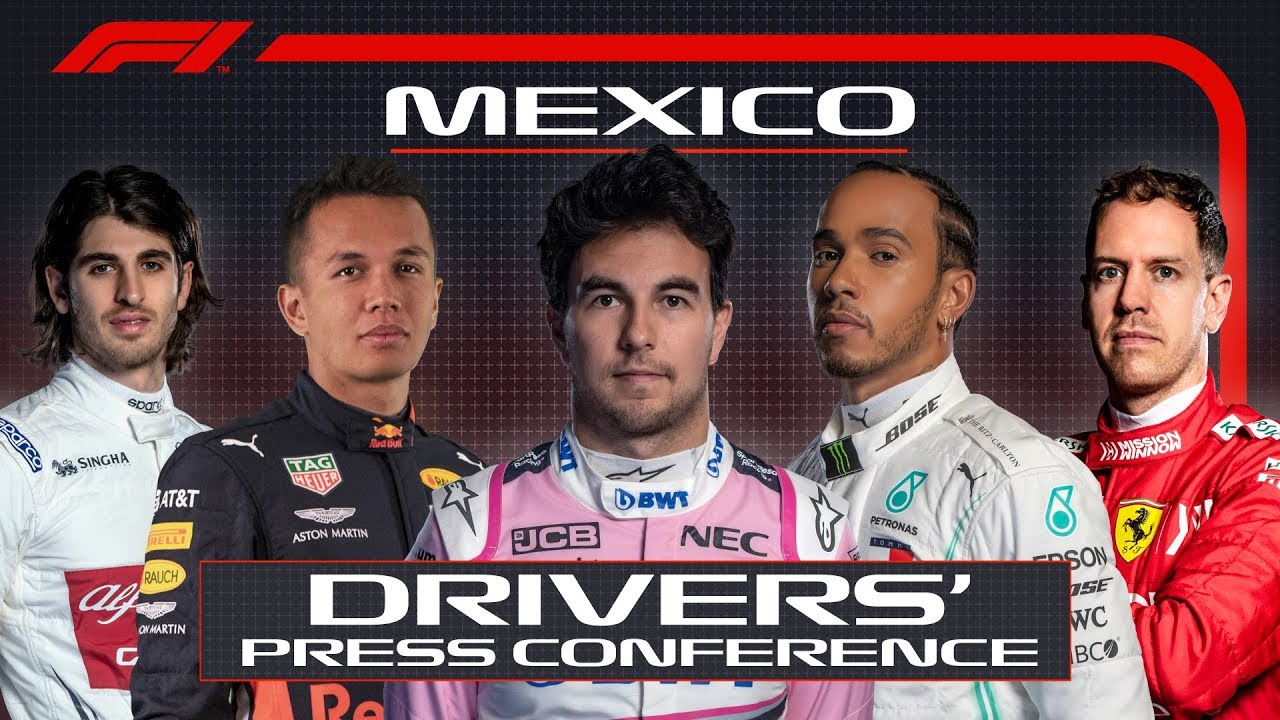 2019 Mexican Grand Prix: Pre-Race Press Conference