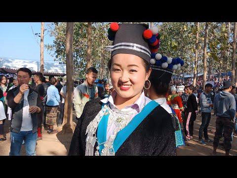 Hmong Beautiful Girls 2018  Nyob Zos Toj Siab Zoo Nkauj Heev19 12 2018