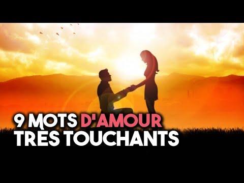 9 Mots Damour Très Touchants Youtube