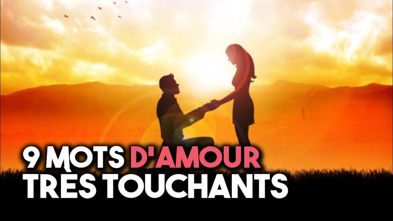 9 Mots Damour Très Touchants