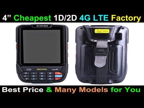 Highton popular 4'' PDA HP405 drop test, 1D+2D barcode scanner RFID reader hanheld