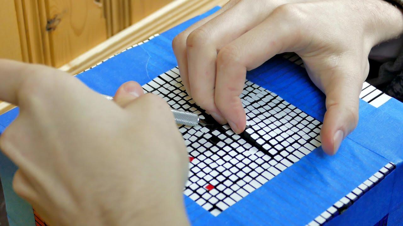 What's Inside A Giant Rubik's Cube? - YouTube