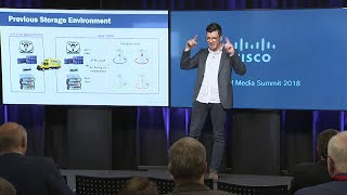 Cloudian & Cisco: Using Cloud Object Storage to Archive 40+ Years of Media