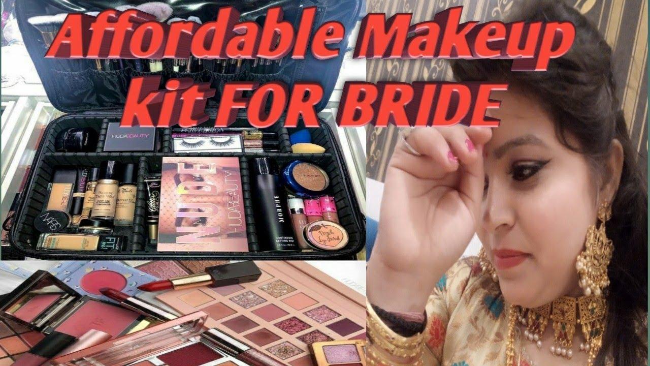 Bridal Makeup Kit Me Kya Kya Hona Chahiye Aur Ise Use Karne Ka Tarika | Khoobsurat World