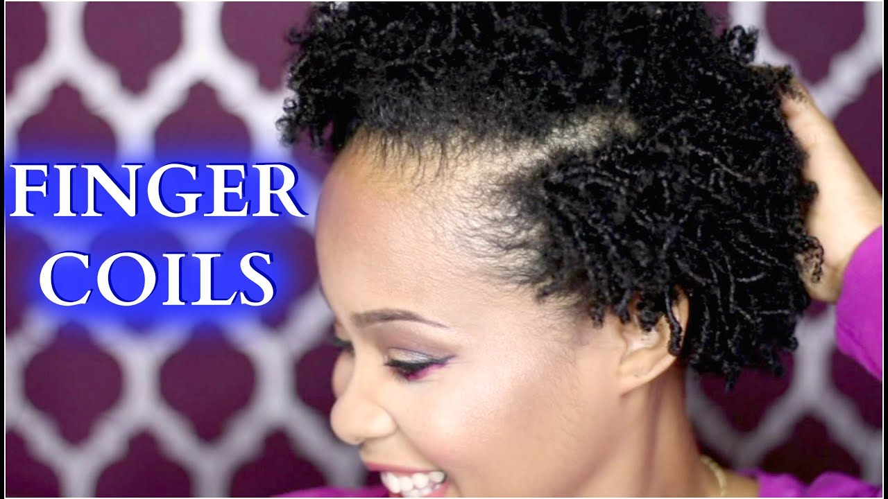 Coil Natural Hair Styles Awesome How To Finger Coils On Natural Hair ✿ How To Style Natural Hair .