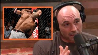 Joe Rogan on Yoel Romero KO
