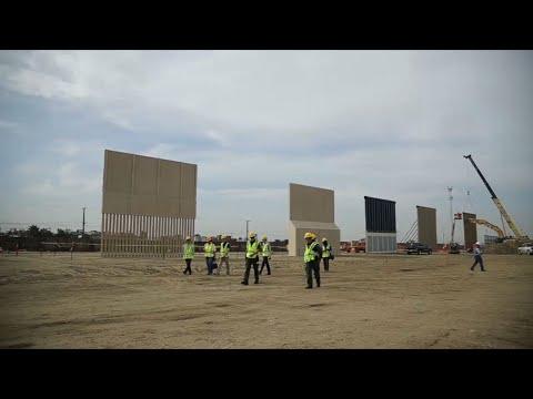 Trump Border Wall Samples Take Shape