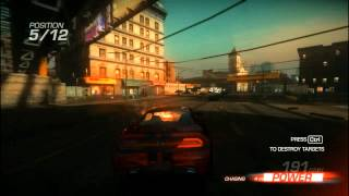 Ridge Racer Unbounded PC Gameplay HD on 9800GTX+