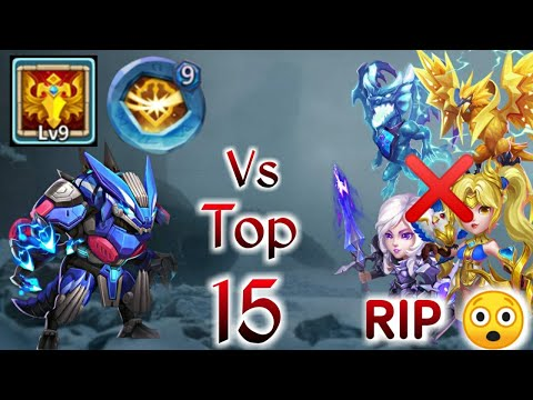 Ripper | 9/9 Blade Dance Vs Top-15 | Rip Beast Heroes | 9 Survival Insingia | Castle Clash