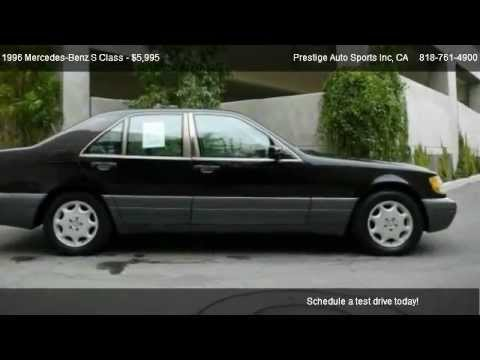 1996 mercedes benz s320 class 4dr sdn 3.2l swb w140 @ prestige
