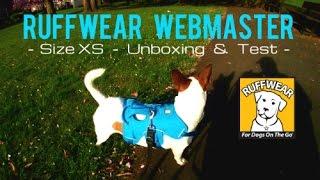 RuffWear Web Master Dog Harness Size XS  Unboxing & Test