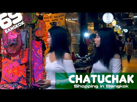 Chatuchak Weekend Market / Shopping in Bangkok