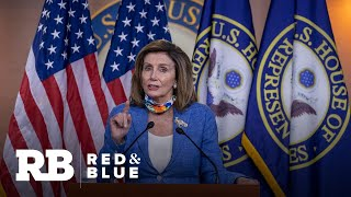 Pelosi says White House put on a con after briefing on Russia bounties