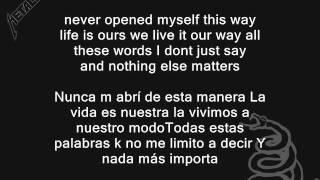 metallica - nothing else matters (subtitulos al español - i...