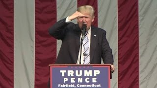 Donald Trump to protester: Hillary, is that you?
