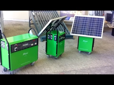 Presentación Generador Solar FIASA® | FIASA® | Fábrica de Implementos Agrícolas