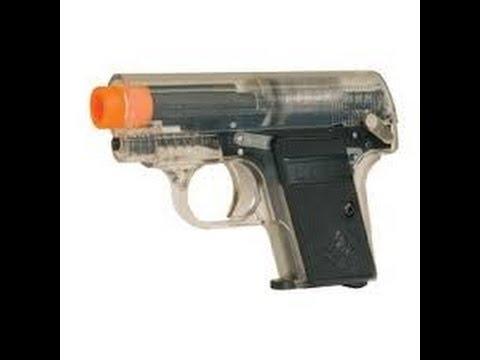 KUELANG Colt .25 airsoft Spring pistol - black Airsoft Tiger111HK Area