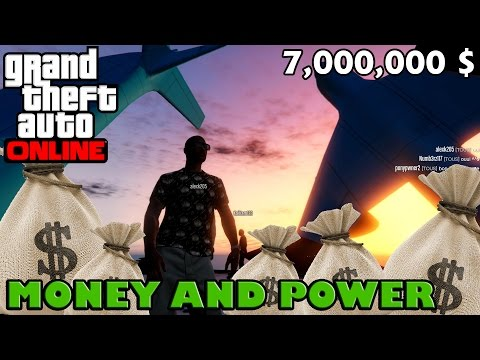 GTA 5 Online (PC) ~ MONEY AND POWER !!! 7,000,000 $