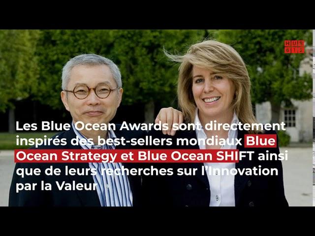 Annonce par HUB612 des Blue Ocean Awards Auvergne Rhône Alpes