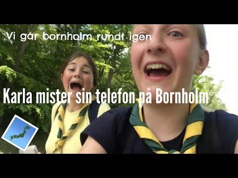 Vi går Bornholm rundt IGEN og Karla mister sin mobil