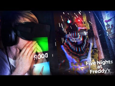 FNAF NIGHTMARE ANIMATRONICS!? THIS IS TOO MUCH. || Five Nights At Freddy's (VR Remake)