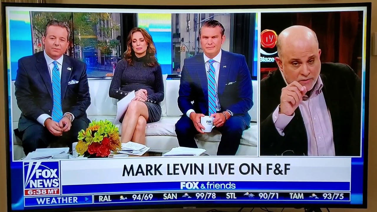 Levin Absolutely Crushes Ed Henry - Whistle Blower Impeachment BS - Fox Friends - 9-29-2019