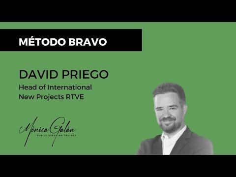David Priego de RTVE recomienda el Método BRAVO para hablar en público y perder el miedo escénico