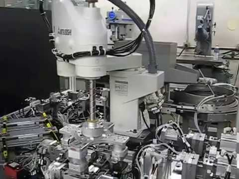 Automated Pin Forming and Insertion System   I - Video