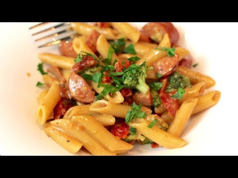 Sausage Pasta Recipe With Broccoli: Easy Dinner Recipes | Sausage Recipes For Dinner