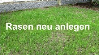 Rasen anlegen Rasen säen Rasen aussäen ausführliche Anleitung