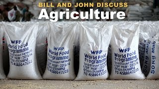 Bill Gates and John Green Discuss Agriculture