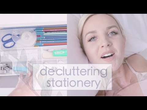 Declutter your Stationery ☁ DAY FIVE | Simplify your Life Challenge